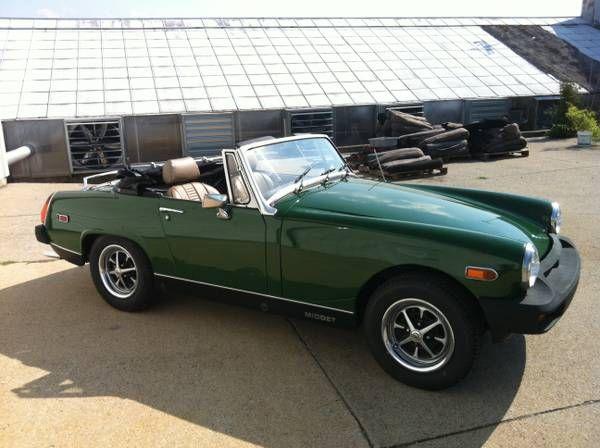 1979 MG Midget - $7,500 Nashville, TN #ForSale #Craigslist ...