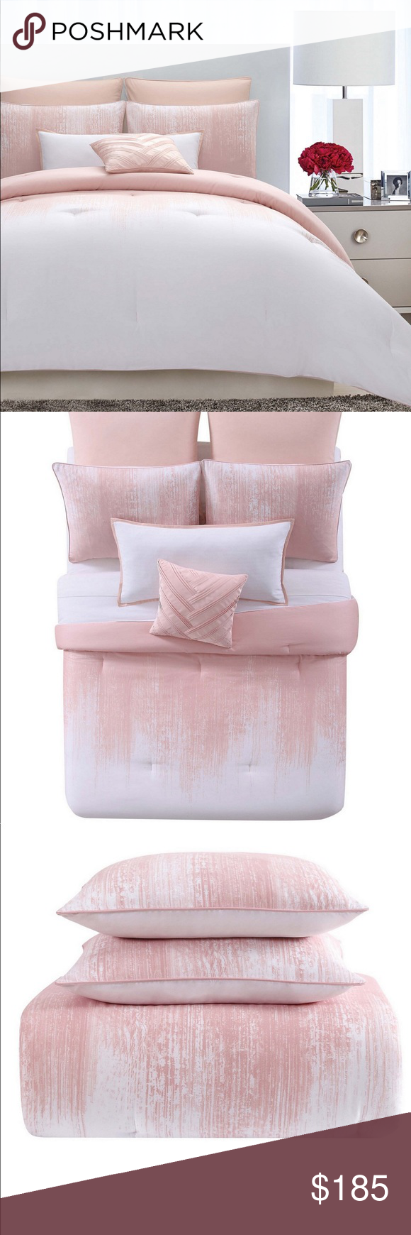 Photo of New Vince Camuto Full/Queen Comforter Set The Lyon comforter set by Vince Camuto…