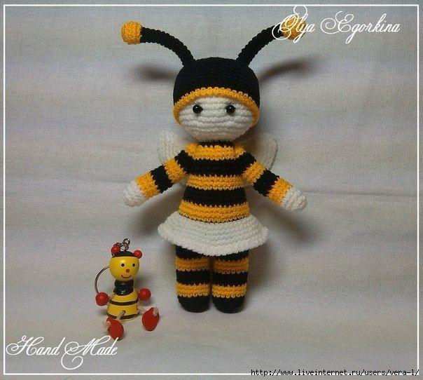 Малышка пчелка. Автор: Егоркина Ольга
