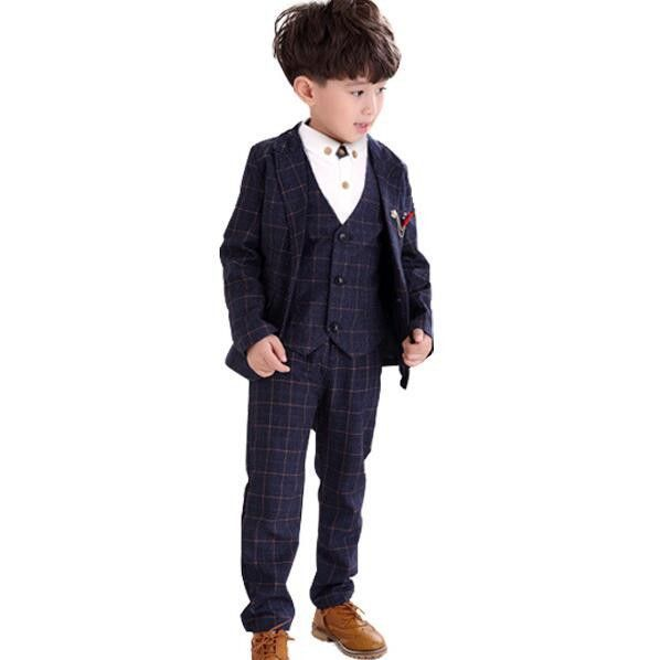 3-12 Year Children Formal Blazer Prom Wedding Baby Boys Suits 8 ...