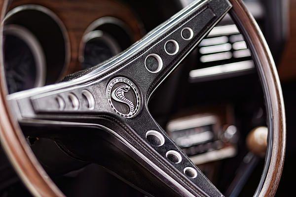 1969 Ford Mustang Shelby Cobra Gt500 Steering Wheel By Gordon Dean