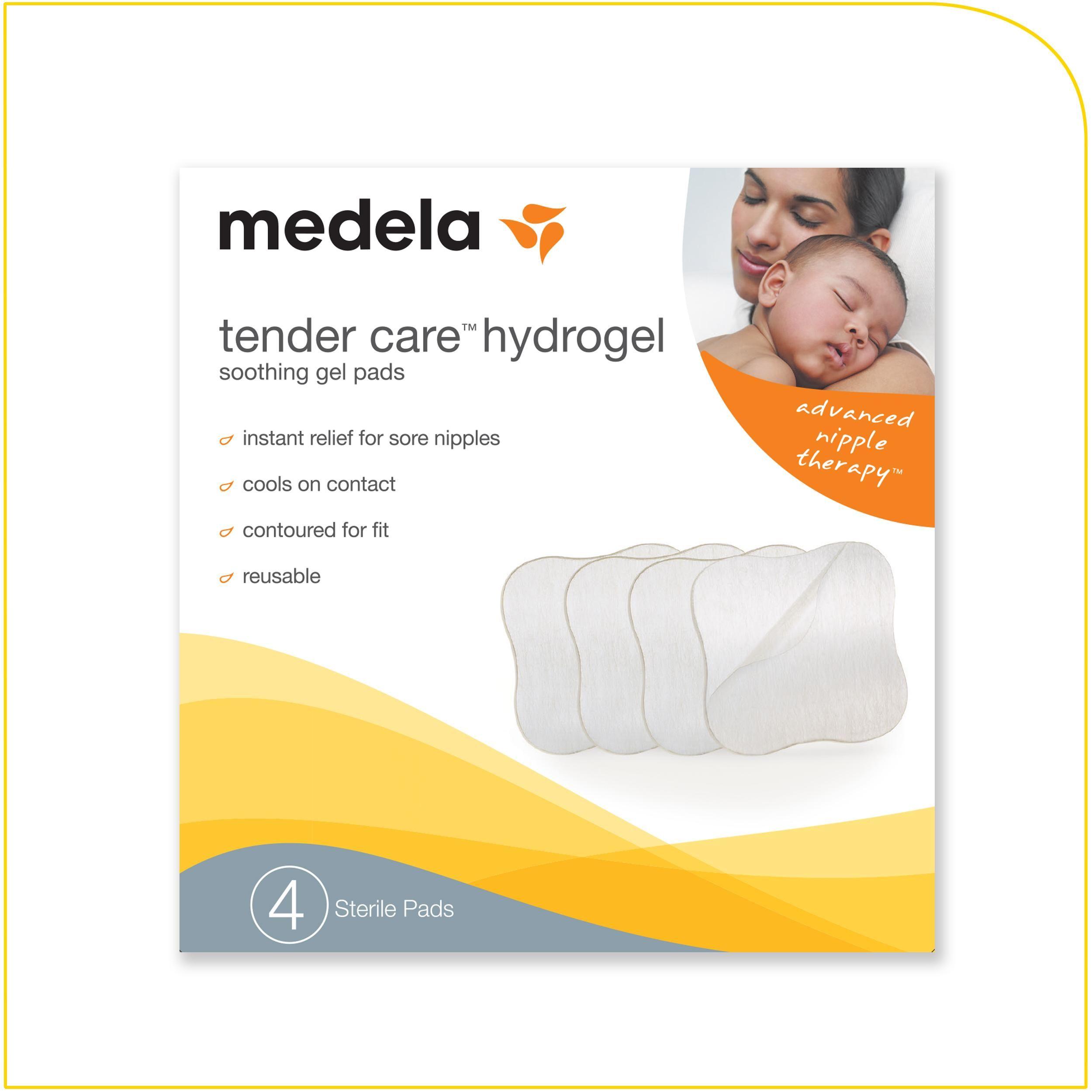 Amazon Com Medela Tender Care Hydrogel Pads Nursing Bra Pads