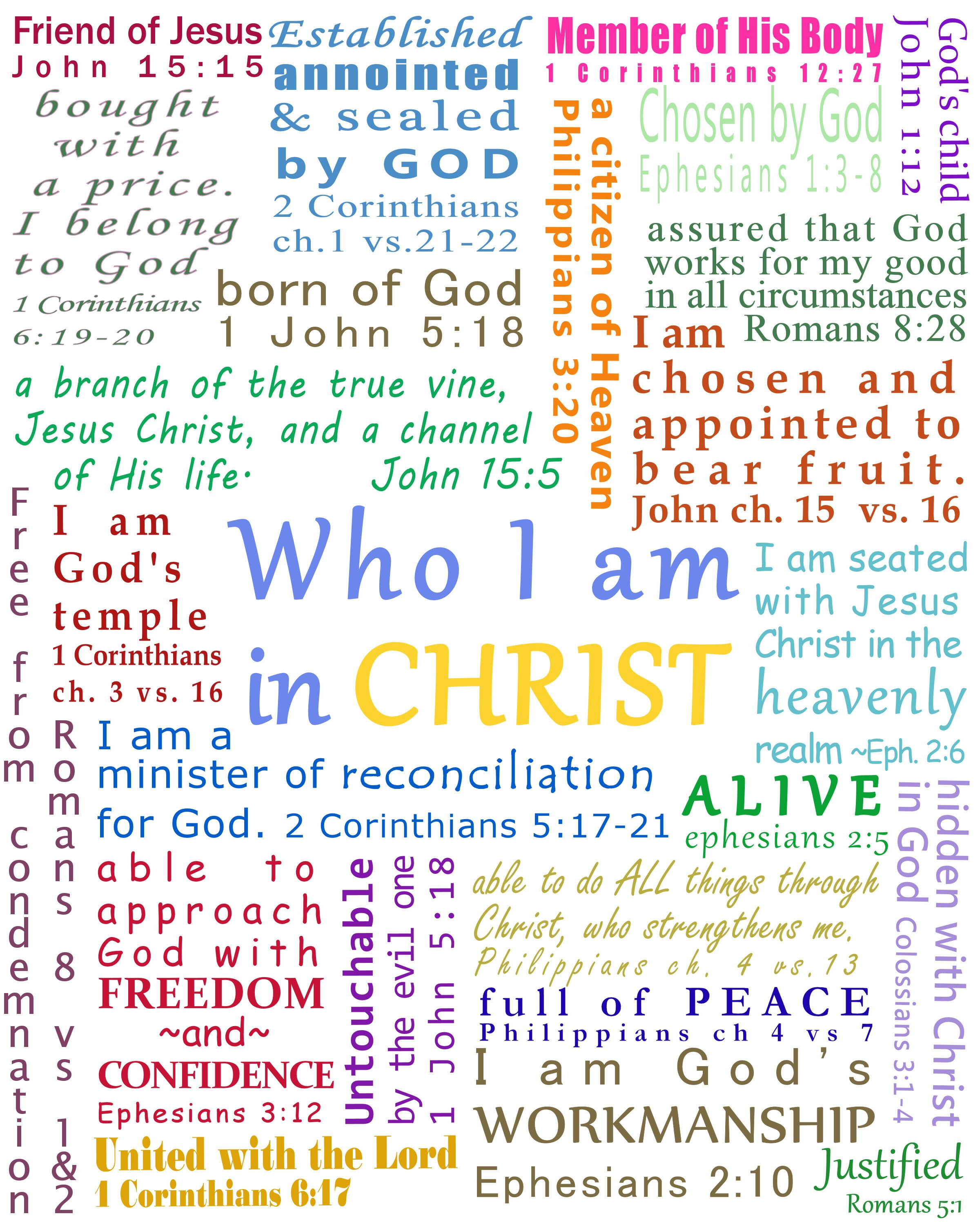 Who I Am In Christ Neil Anderson