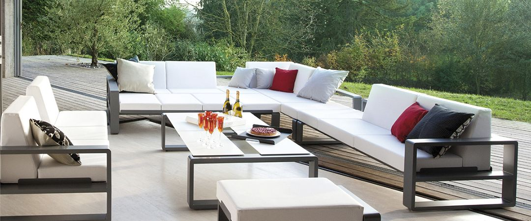 Ego Paris Exclusivos Muebles De Terraza En Aluminio Sofas Sillones Sillas Reposeras Y Mesas Importados Resist Muebles Muebles Terraza Muebles Decapados