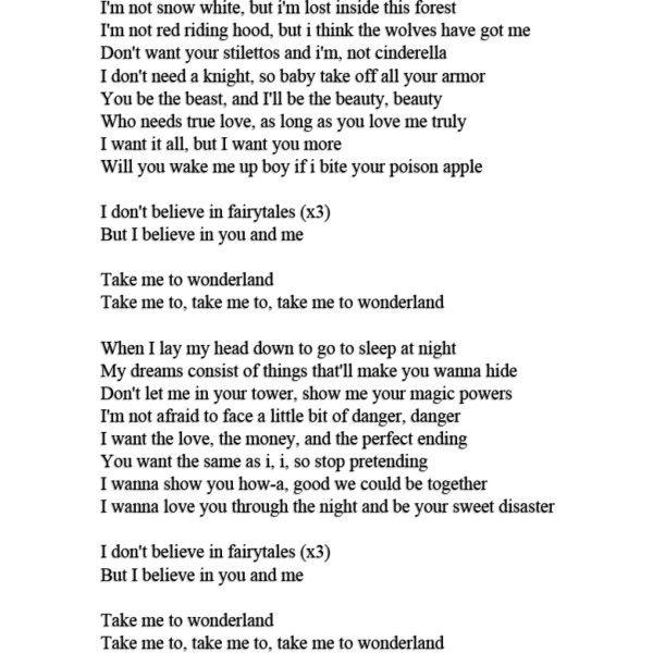The Warriors Imagine Dragons Lyrics: Natalia Kills Lyrics By Jadoreingrid Liked On