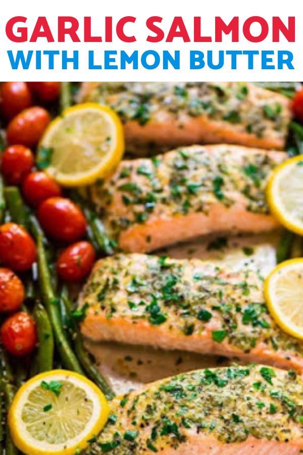 Photo of Garlic Salmon with Lemon Butter