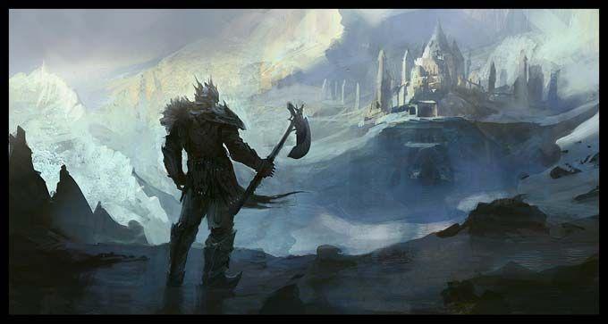 Snow warrior fantastique heroic fantasy