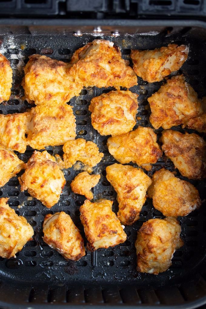 These Homemade Air Fryer Chicken Nuggets are the perfect