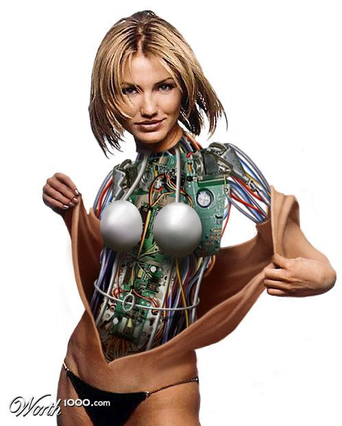 Celebrity Cyborgs 2 - Worth1000 Contests