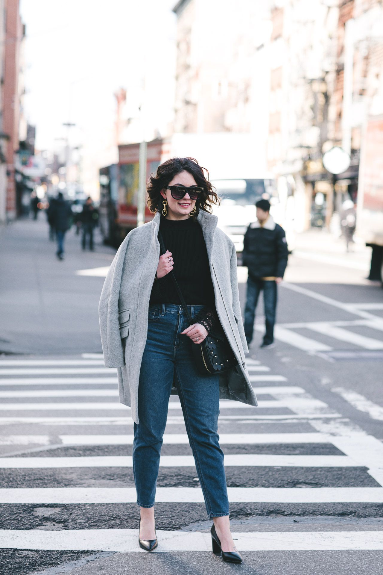 street style 101, street style, city chic, ivanka trump, mom jeans, how 2 style mom jeans