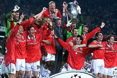 Pin By Lajos Toth On Man United Treble Win In 2020 Manchester United Legends Champions League Final Bayern Munich