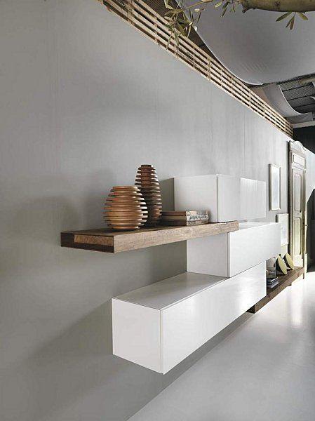 Elements besta suspendus pour cr er un buffet page 2 for Ikea buffet salon
