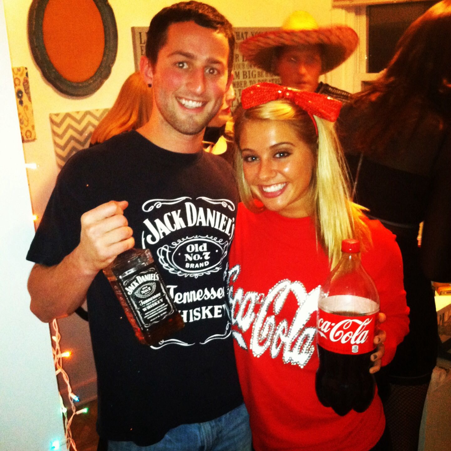 Jack And Coke Costumes This Year So Easy To Do