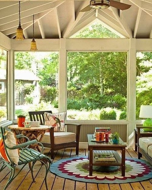 22 Eclectic Porch Ideas: Screened Porch Designs, Porch