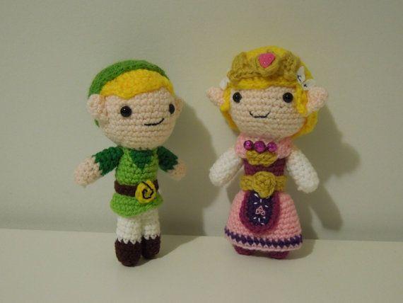Link And Zelda Combo Crochet Pattern Pdf By Theamigurumizoo 1100