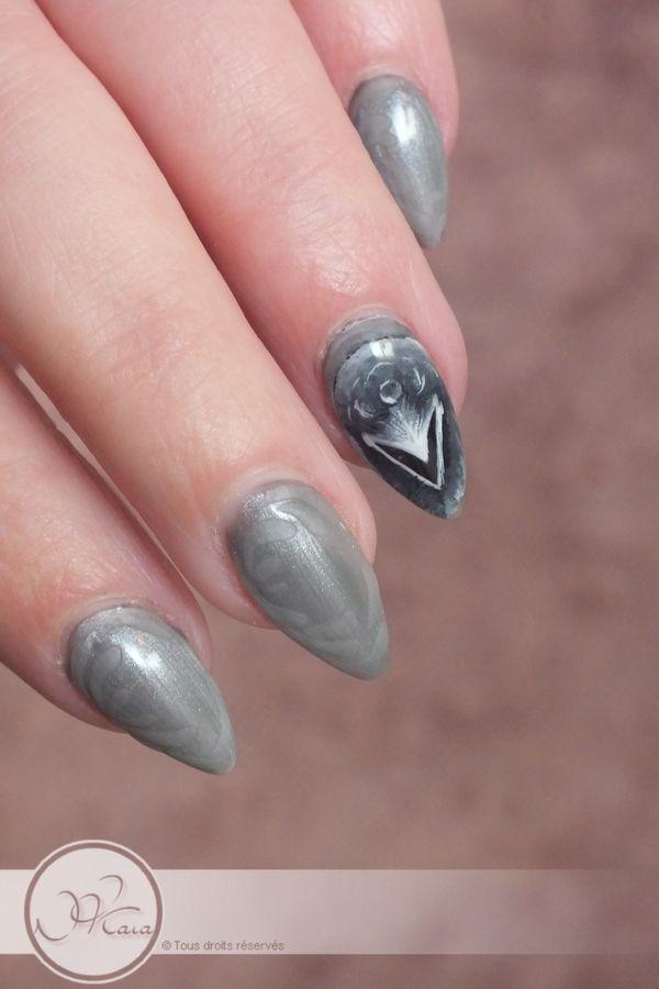 Natacha PERES - Le nail art d\'Ygritte la sauvageonne de GOT   Manicure