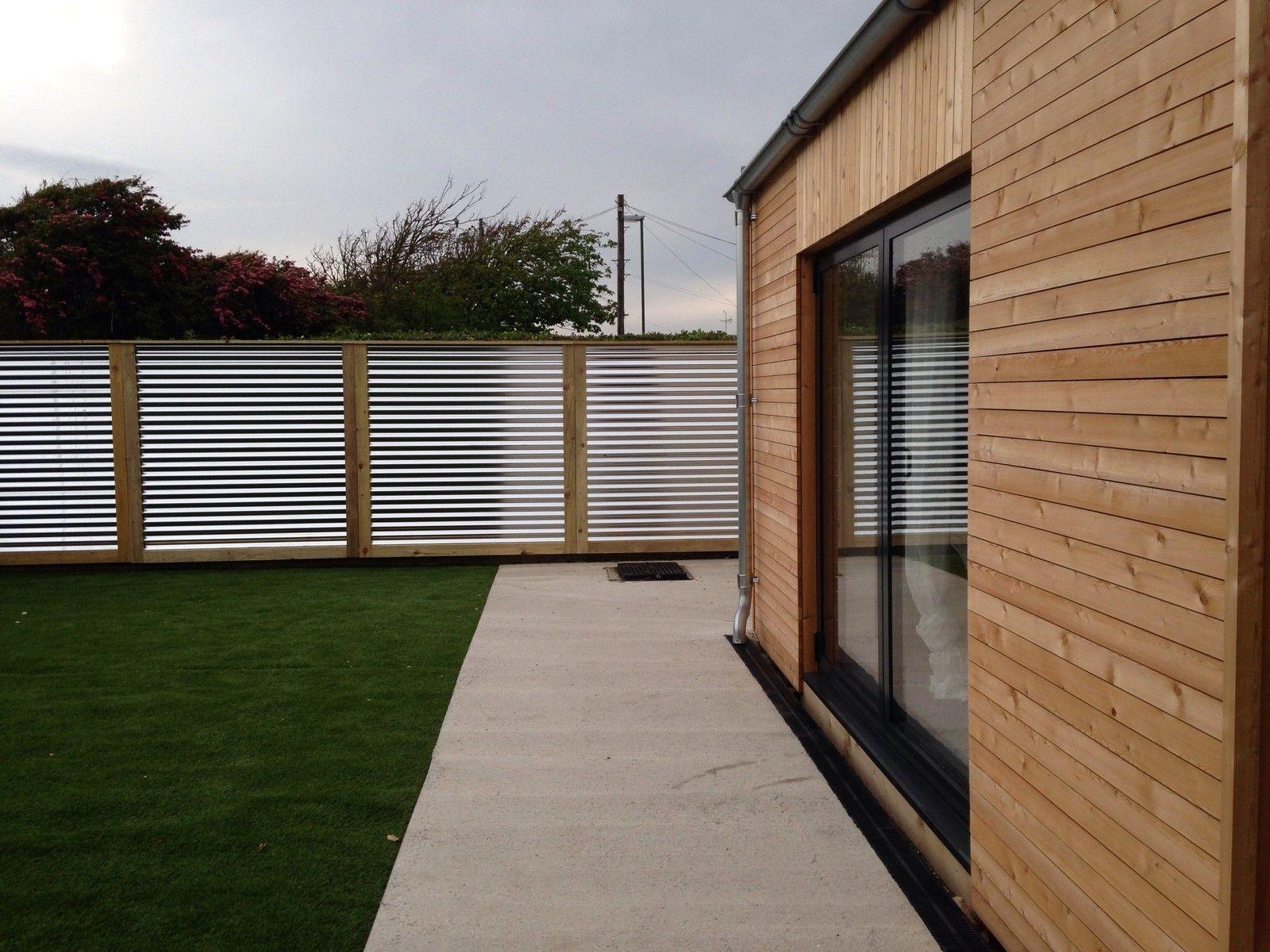 corrugated metal fence panels. Corrugated Metal Fence Panels In Garden \u0026 Patio, Fencing, | EBay 2