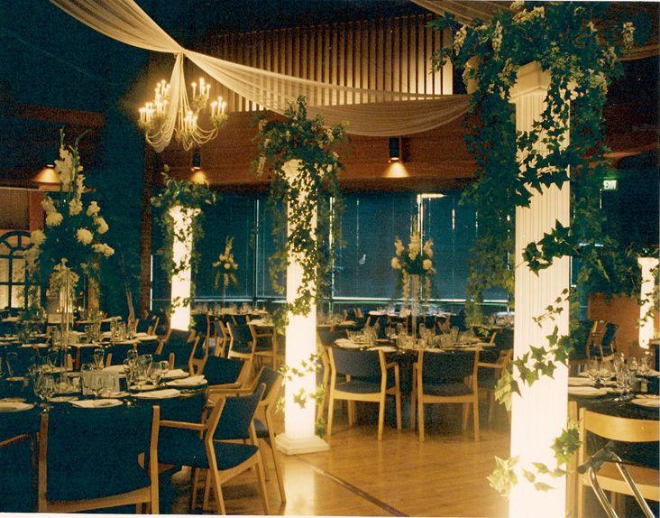 Wedding Fabric Decorations Wedding Pillars Decoration Basic