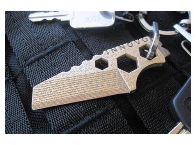 ''ShapeTool Mini'' Keychain Multitool by Innovo