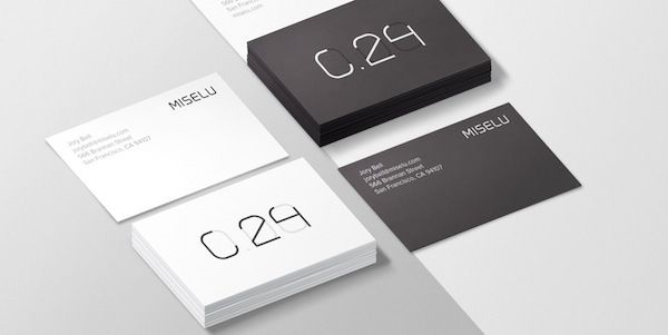 Here we are showcasing 75 minimalist business cards that will help ...