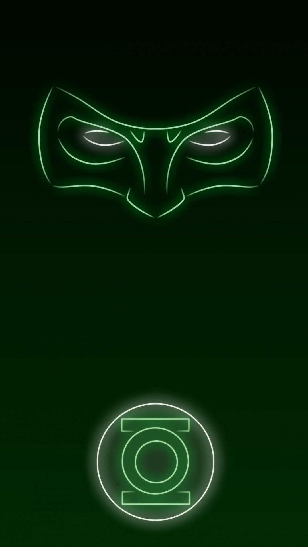 neon light hero green lantern 1080 x 1920 wallpapers available for