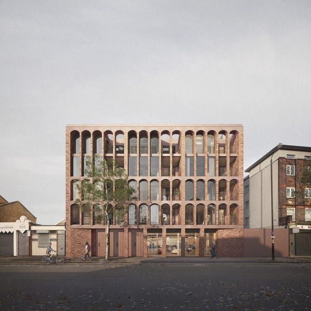 Walthamstow Housing | Architecture for London | Archinect ...