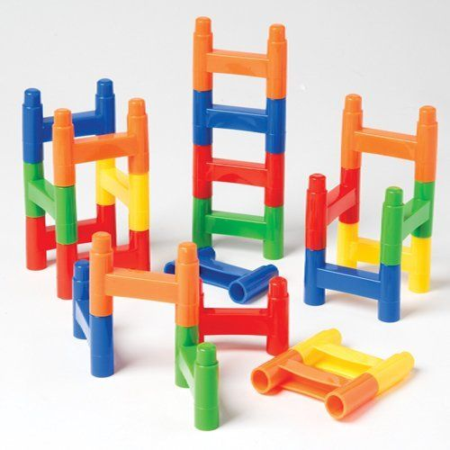 Building Connecting Toy Educational Blocks Bars Connecting Toy Playset for Kids