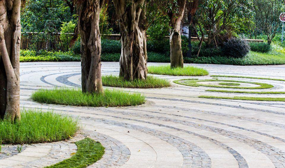 Luofu Paradise Park Entrance Park China By Sed Landscape Architect 谷德设计网