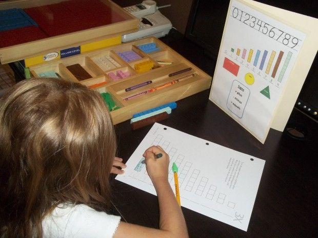 Free Math U See Lapbook Mini Office Math U See Free Math Homeschool Math