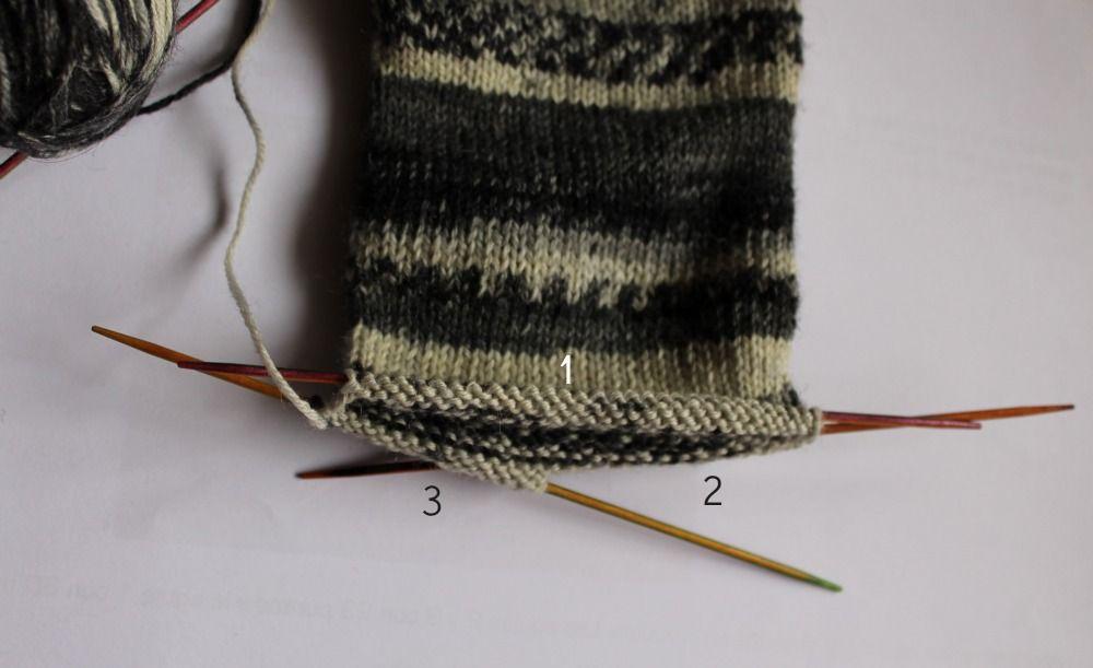 Siona: 005.- Patrón de calcetines con 5 agujas (gratis) | Tejidos ...