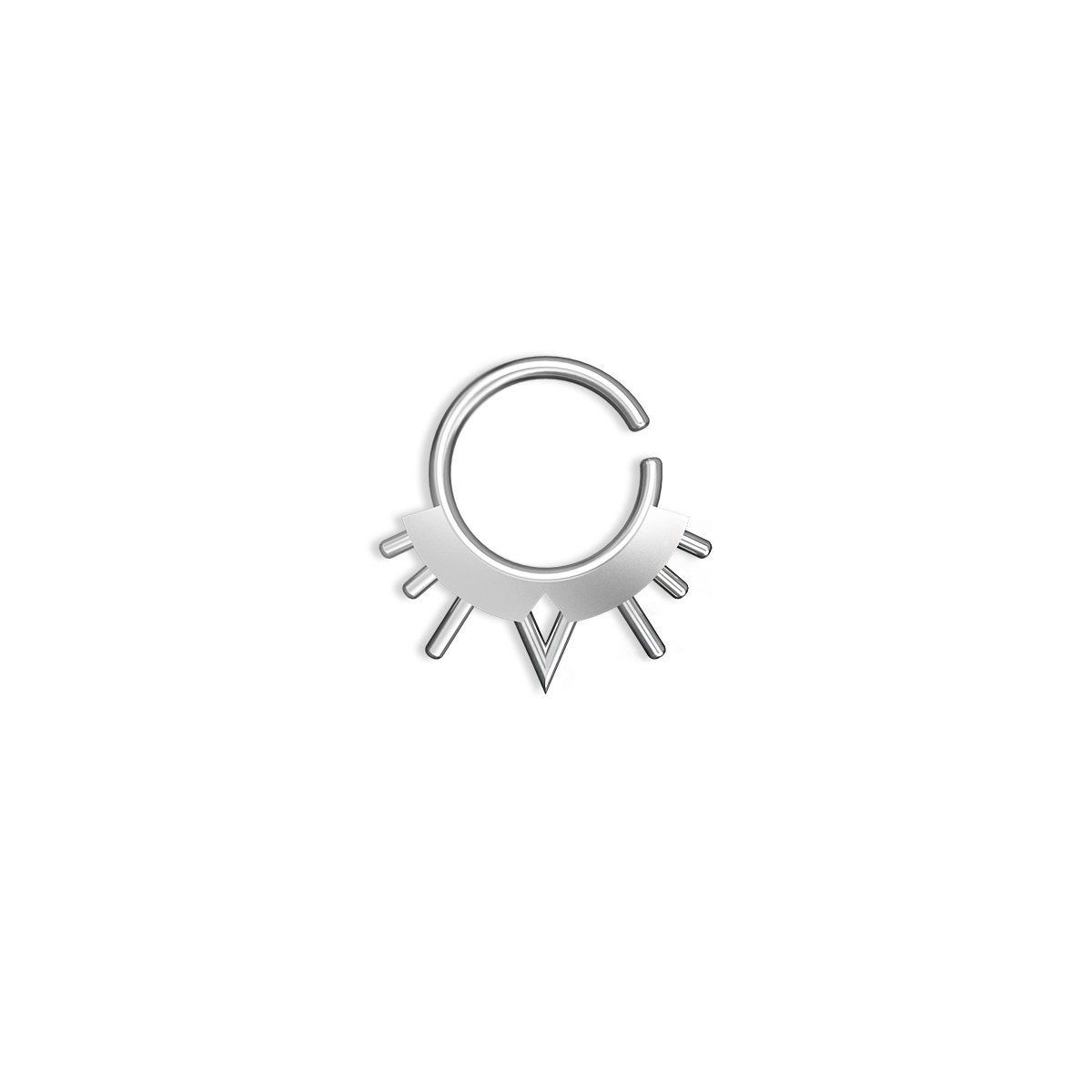Unique septum ring , Septum , Male septum ring , Male septum , unique septum , silver septum ring , spetum , cool septum ring, Free Shipping #septums #earring #earrings #art #SeptumPiercing #CoolSeptum #psychedelic #septum #SeptumEarring #jewelry