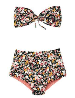 tori praver floral swimsuit