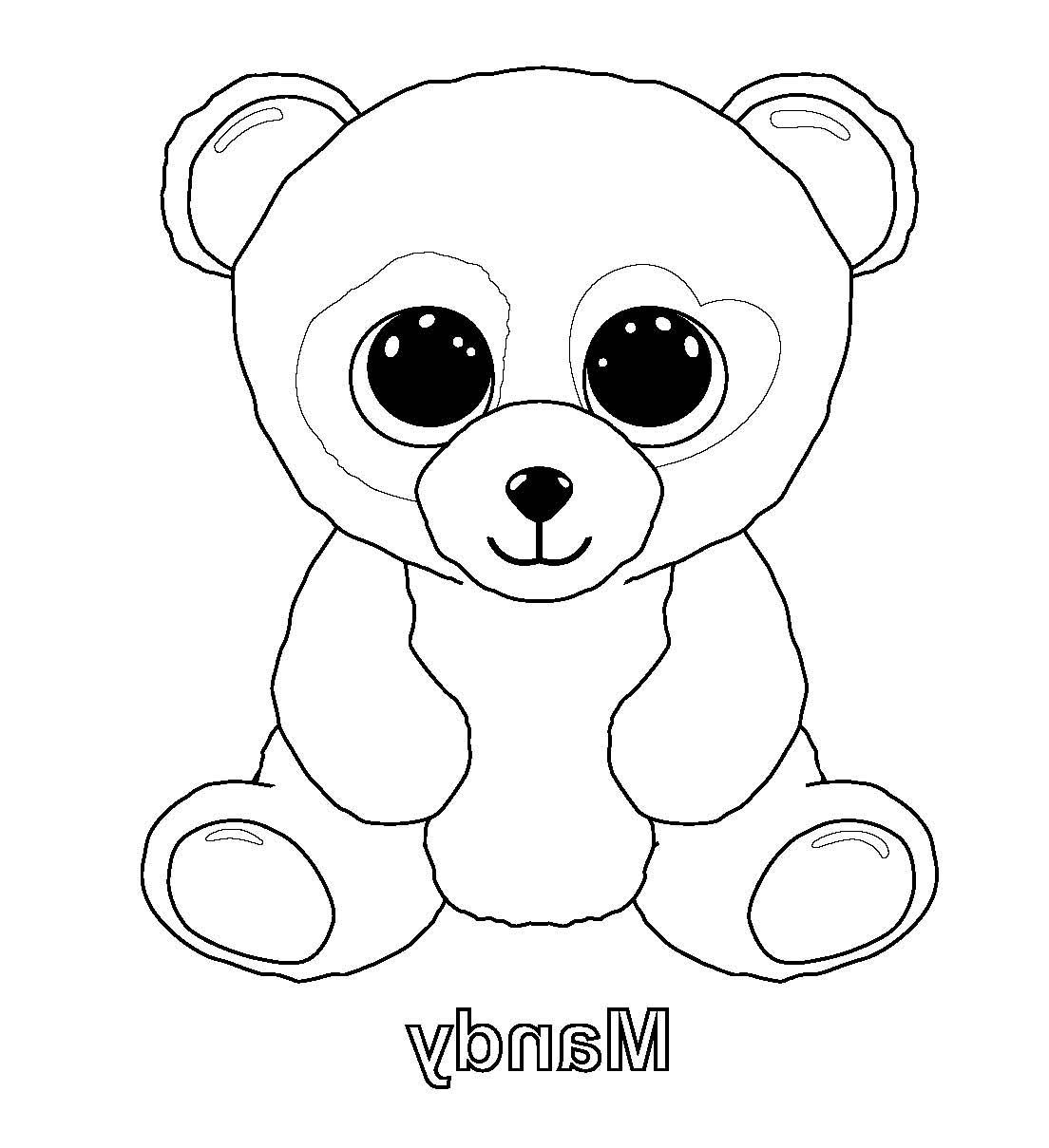 12 Divertir Coloriage Peluche Ty Photograph In 2020 Panda