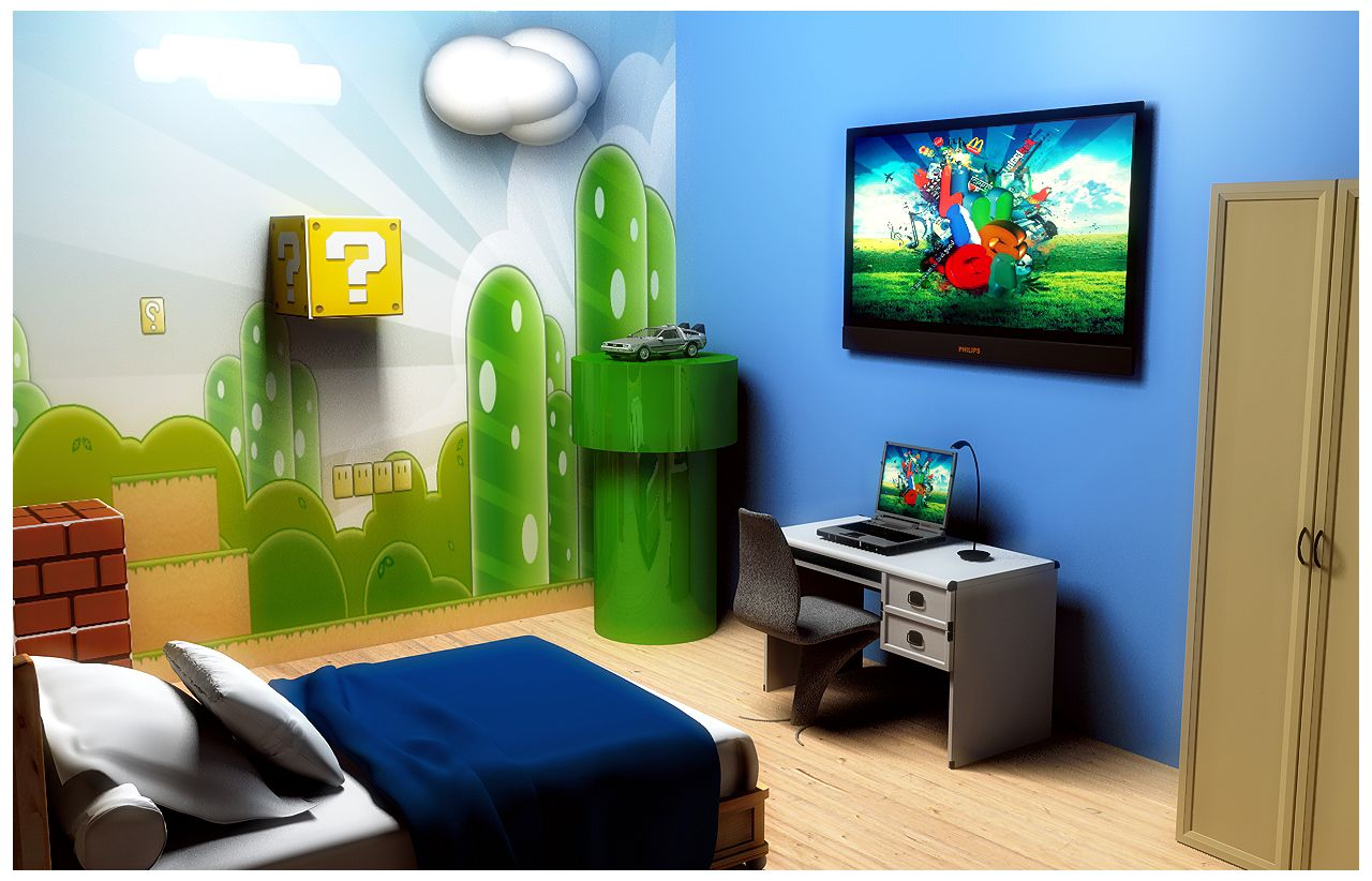 Chambre Geek Mario Bedroom Google Search My Dream Home Chambre Salle