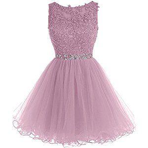 Kleid kurz spitze tull