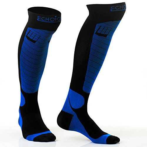 1cc76309d24 LuChoice Professional Compression Socks 20-30 mmHg (1-Pair) Medical    Orthopedic Support – Anti-Fatigue