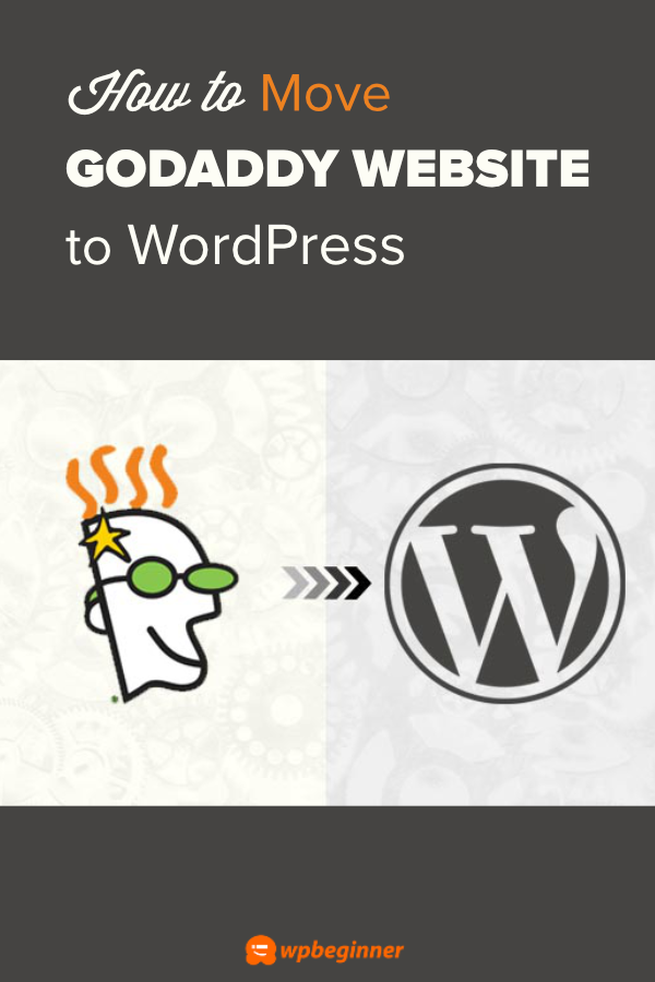 How To Move Godaddy Website Builder Site To Wordpress Godaddy Website Builder Website Godaddy Website Builder