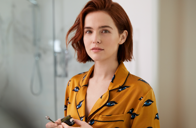 Zoey Deutch Gets Her Eye Cream from La Mer and Sha