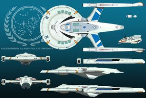 Masterson Class Frigate Finished by HandofManos
