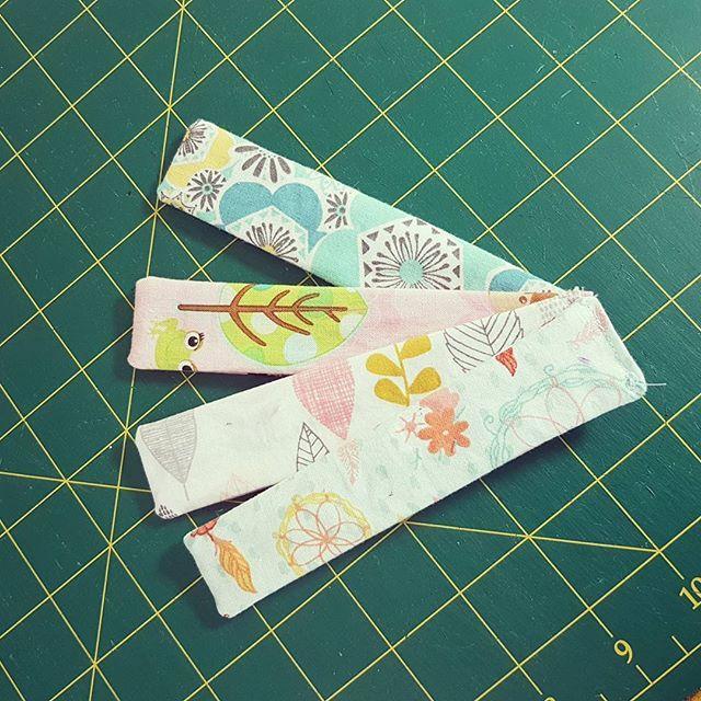 Love my pattern weights! Tutorial is on www.loreleijayne.com