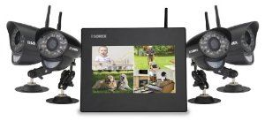 Lorex Wireless Video Monitoring System with 4 Cameras (LW2714B),$485.50