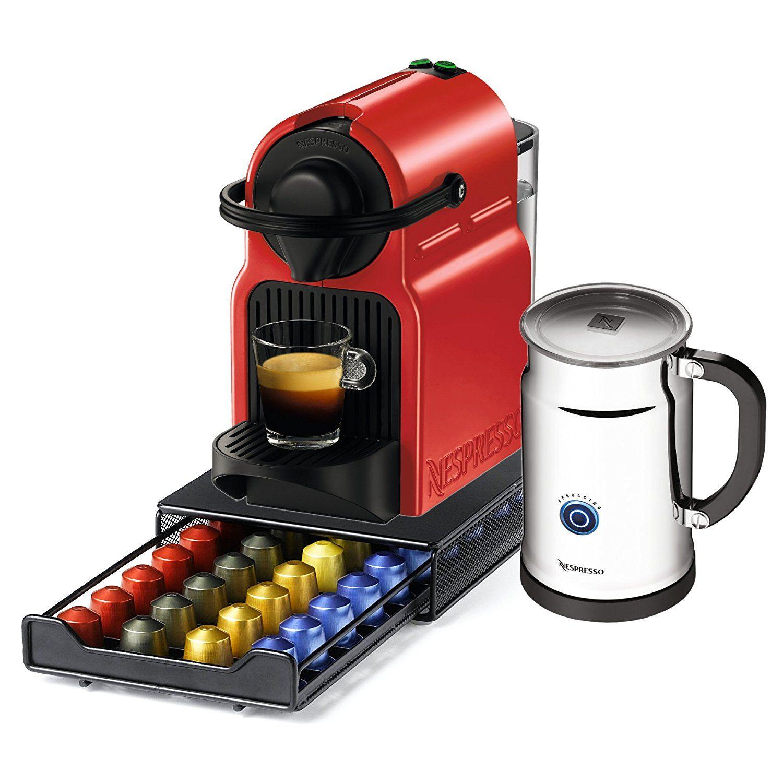 Nespresso Original Line Inissia C40 Red Espresso Maker
