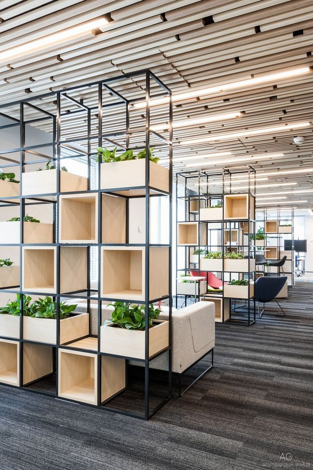 magnificent modern style storage ideas for small spaces | 30+ Gorgeous Modern Office Design Ideas | Small Office ...
