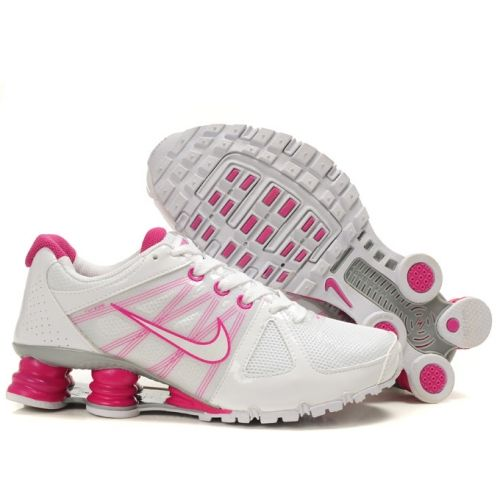 Nike Shox Agent+ Shoes Whte Pink For Women