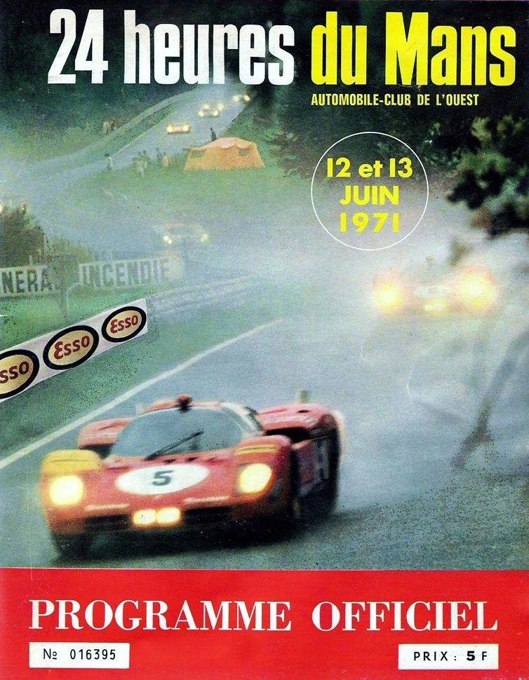 Officiel… 1971 LeMans program cover