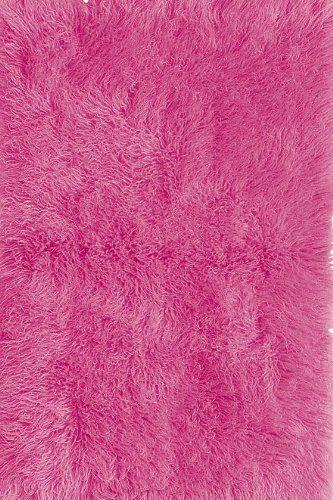 Premium Flokati Area Rug 3 X5 Hot Pink 179 00 Pink