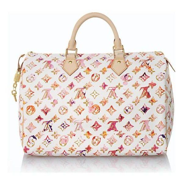 Louis Vuitton Limited Edition Speedy Handbag Bagborroworsteal Louis Vuitton Limited Edition Louis Vuitton Watercolor Louis Vuitton Online