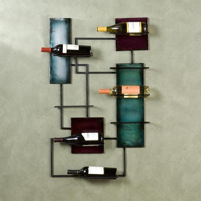 Found it at wayfair ravenel 8 bottle wall mounted wine rack