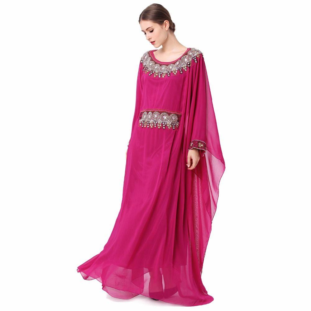 Sale Price US $33.99 women muslim clothing elegant Embroidery long ...