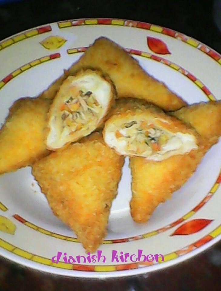 14 Resep Roti Tawar Goreng Isi Ayam Dan Sayuran Jpg 730 960 Resep Roti Resep Sayuran